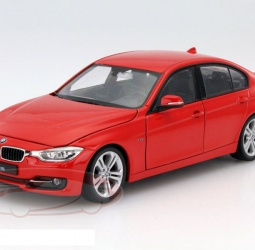 1:24-BMW (F30) 335i-2012-2015-crveni-Welly