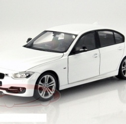 1:24-BMW (F30) 335i-2012-2015-bijeli-Welly