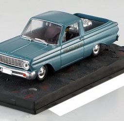 1:43-Ford Falcon Ranchero-film Goldfinger-James Bond-1960-1965-svijetlo plavi-Altaya 007 Collection