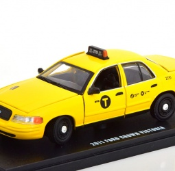 1:43-Ford Crown Victoria New York City Taxi-2011-2012-žuti-Greenlight