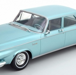 1:18-Chrysler Newport 4-door Sedan-1963-1964-tirkizni-BoS