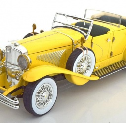 1:18-Duesenberg II SJ-film The Great Gatsby-1934-žuti-Greenlight