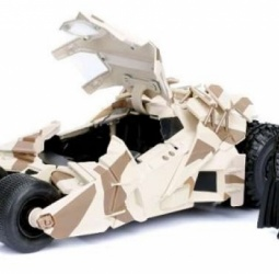 1:24-Batmobile-film The Dark Knight-2008-camouflage-Jada