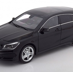 1:18-Mercedes (C117) CLA-Class Shooting Brake-2015-2019-crni-Norev