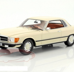 1:18-Mercedes (C107) 350 SLC-1971-1981-bež-Cult Scale
