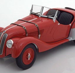1:18-BMW 328 Roadster-1936-1940-crveni-Minichamps