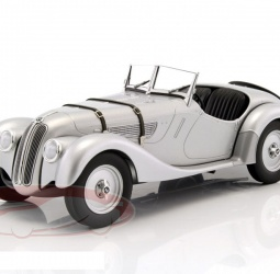 1:18-BMW 328 Roadster-1936-1940-srebreni-Minichamps